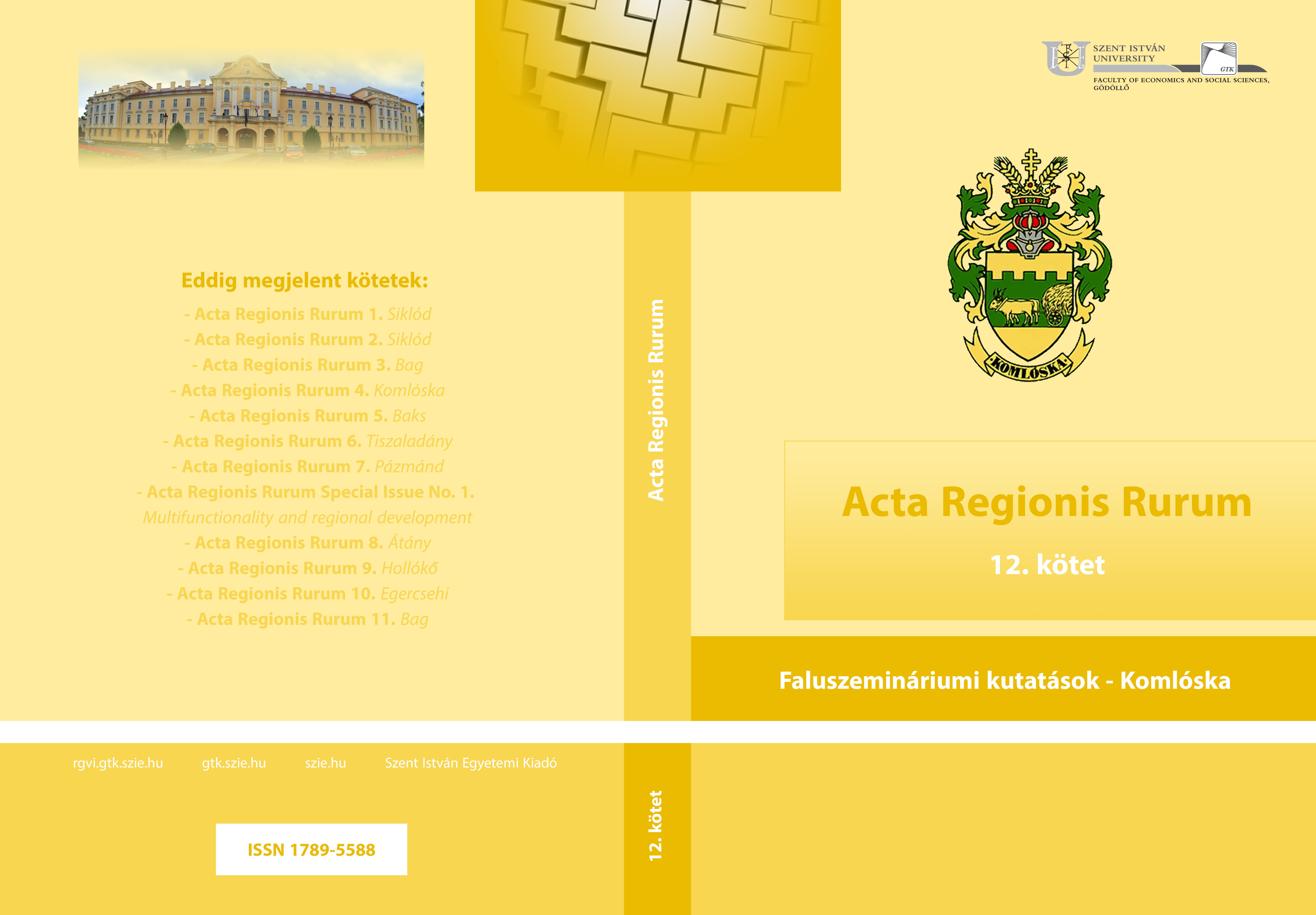 acta regionis rurum 12